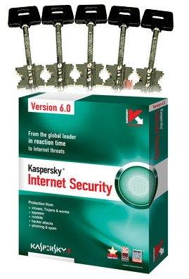 Ключи к антивирусу Kaspersky 7